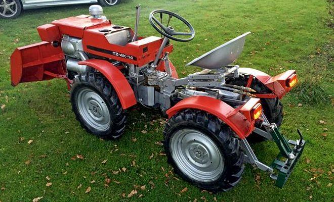 использование трактора